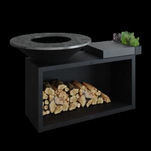 Ofyr island black 100 céramique gris anthracite - Hervé Gehin