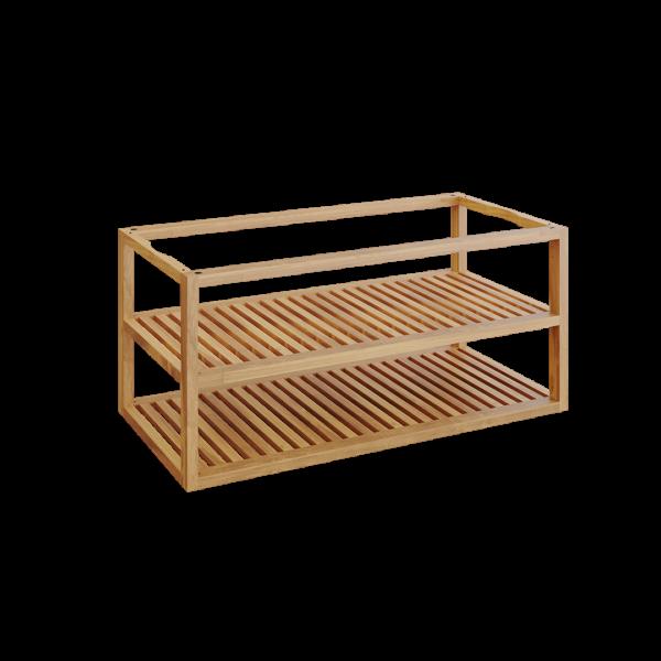 Ofyr storage insert pro bois de teck grand - Hervé Gehin