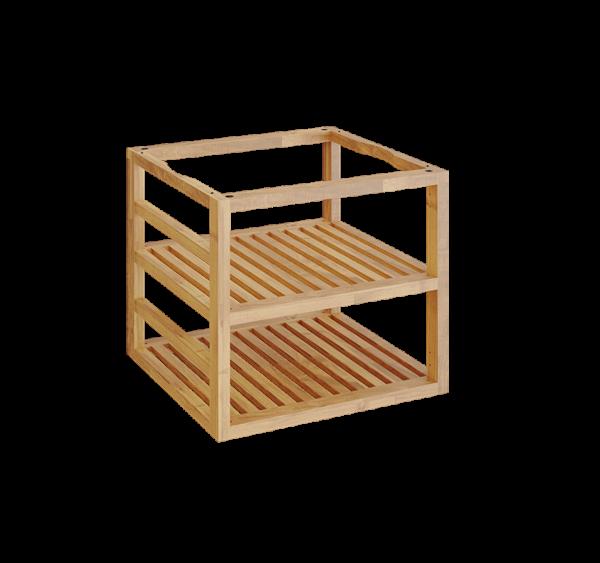Ofyr storage insert pro bois de teck moyen - Hervé Gehin