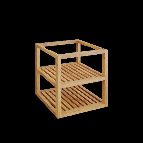 Ofyr storage insert pro bois de teck petit - Hervé Gehin