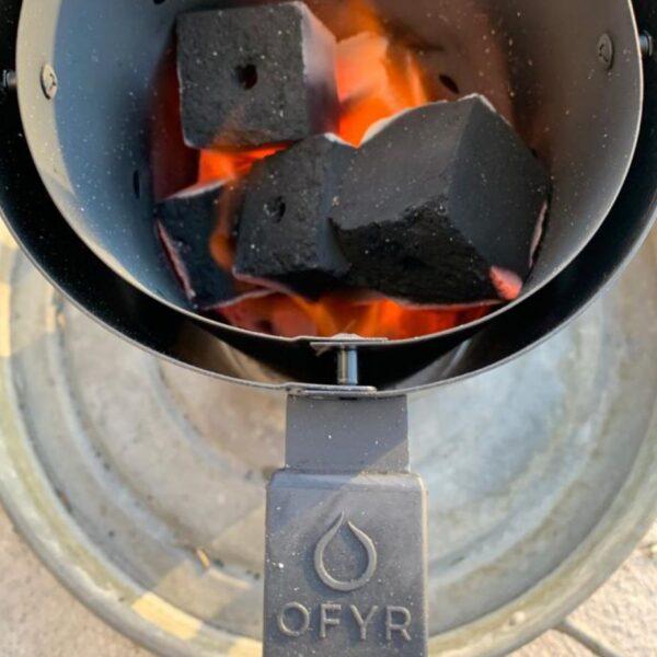 Ofyr briquette de noix de coco 2kg - Hervé Gehin
