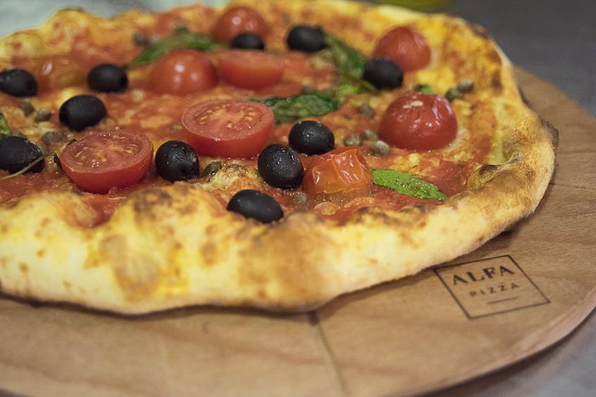 pizza vegane
